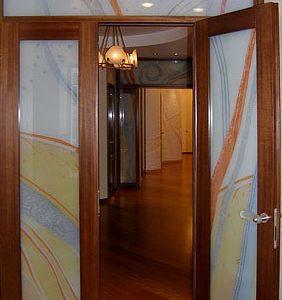 двери-витражи