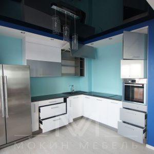 """Кухня в стиле техно """"Металлик"""""""