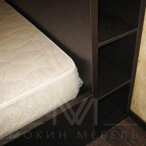 """Кровать 1600х2000 """"Венге темный"""""""