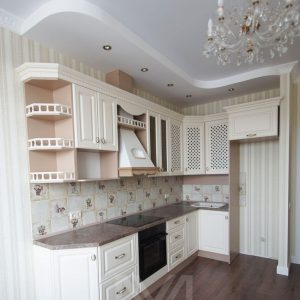 Кухня в классическом стиле «Молочная Карамель»