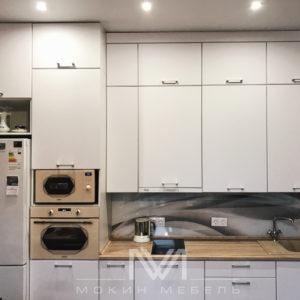 Кухня «Белоснежный Модерн»
