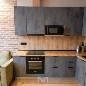 Кухня на заказ Calcestruzzo