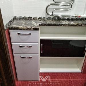 Мебель в ванную на заказ Cascata