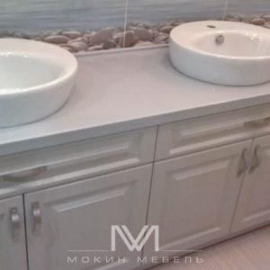 Тумба в ванную под заказ Giglio